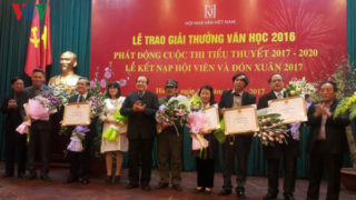 Tiêu chí xét giải thưởng Hội Nhà văn VN